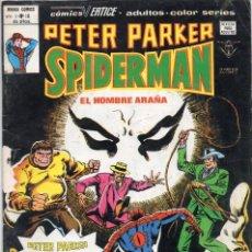 Cómics: COMIC VERTICE 1979 PETER PARKER SPIDERMAN VOL1 Nº 10 BUEN ESTADO. Lote 187535682