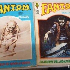 Cómics: FANTOM VOL. 1 Nº 4 Y 22 / VÉRTICE 1972. Lote 136393258