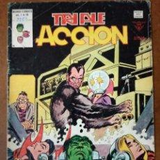 Cómics: TRIPLE ACCION VOL. 1 Nº 19 - VERTICE. Lote 186273078