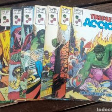 Cómics: LOTE TRIPLE ACCIÓN (LOS DEFENSORES). Lote 187643508