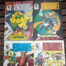 Cómics: LOTE VENGADORES NÚMEROS 1-4. Lote 187643947
