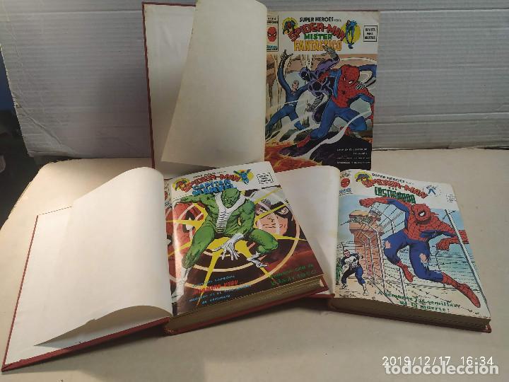3 TOMOS SUPER HÉROES PRESENTA SPIDERMAN Y… - 25 NÚMEROS - VER DESCRIPCIÓN (Tebeos y Comics - Vértice - Super Héroes)