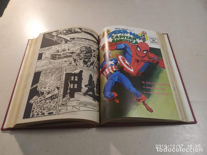 Cómics: 3 TOMOS SUPER HÉROES PRESENTA SPIDERMAN Y… - 25 NÚMEROS - VER DESCRIPCIÓN - Foto 4 - 188402603