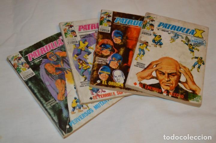 LOTE 01 - REVISTA PARA ADULTOS VÉRTICE - PATRULLA X, NÚMEROS 02, 03, 06, 07 - ¡MIRA FOTOS/DETALLES! (Tebeos y Comics - Vértice - Patrulla X)