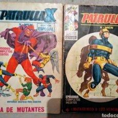 Cómics: PATRULLA X V1 NÚMEROS 25 Y 26. Lote 188792622