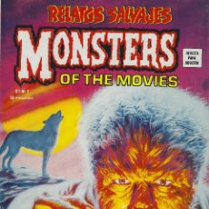 Cómics: RELATOS SALVAJES NUMERO 9. MONSTERS OF THE MOVIES. EXCELENTE ESTADO. Lote 189087088