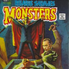 Cómics: RELATOS SALVAJES NUMERO 23. MONSTERS OF THE MOVIES. EXCELENTE ESTADO. Lote 189087247