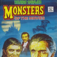 Cómics: RELATOS SALVAJES NUMERO 46. MONSTERS OF THE MOVIES. EXCELENTE ESTADO. Lote 189087363