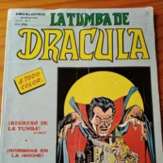 Comics: LA TUMBA DE DRACULA - ESCALOFRIO PRESENTA VOL.2 Nº 7 - VERTICE -. Lote 189089047