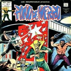 Comics : LOS INSUPERABLES- Nº 23 -PUÑO DE HIERRO-¡CULTO DE MUERTE!- 1978-MUY DIFÍCIL-BUENO-LEAN-2590. Lote 189108260