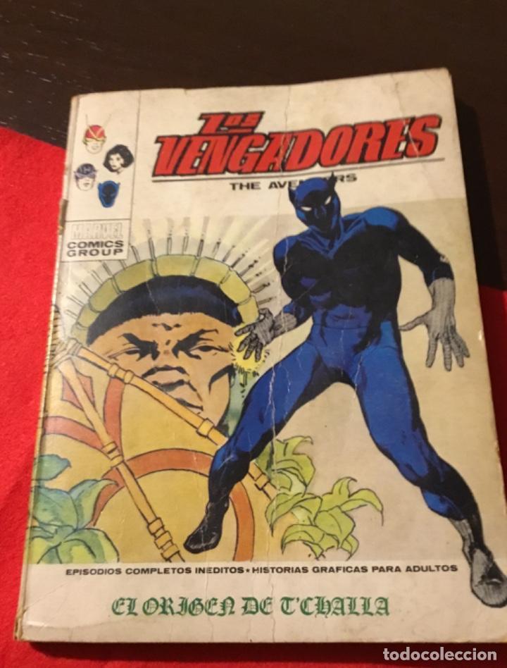 ANTIGUO CÓMIC LOS VENGADORES (Tebeos y Comics - Vértice - Vengadores)