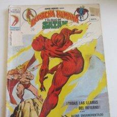 Cómics: SUPER HEROES VOL. 2 Nº 26 ANTORCHA HUMANA HIJO DE SATAN MUNDI-COMICS - VERTICE. CX35. Lote 189140410