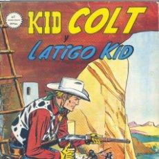 Cómics: KID COLT Y LATIGO KID Nº7. VÉRTICE, 1981. Lote 189212430