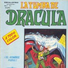 Cómics: LA TUMBA DE DRACULA Nº5 (ESCALOFRIO). VERTICE, 1973. Lote 189212663