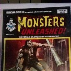 Cómics: COMIC: ESCALOFRIO PRESENTA Nº 37 - MONSTERS UNLEASHED! Nº 10. PRECINTADO. Lote 189225278