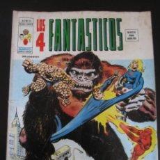 Cómics: 4 FANTASTICOS, LOS (1974, VERTICE) -V.2- 25 · IX-1976 · ¡LA MUERTE ES UN GORILA DORADO!. Lote 189241557