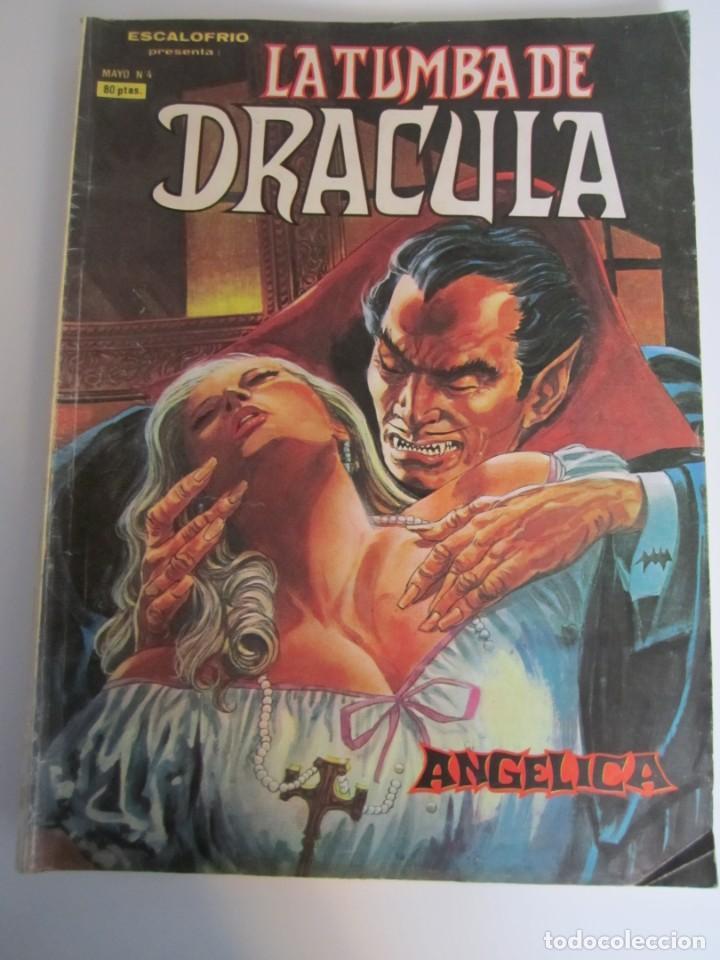 DRACULA, LA TUMBA DE (1980, VERTICE) 4 · VI-1980 · ANGELICA (Tebeos y Comics - Vértice - Terror)