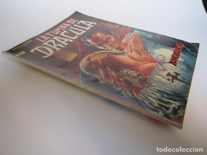 Cómics: DRACULA, LA TUMBA DE (1980, VERTICE) 4 · VI-1980 · ANGELICA - Foto 3 - 189242627
