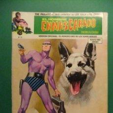 Cómics: EL HOMBRE ENMASCARADO LOTE DE 10 NUMEROS V.L. 1 EDICIONES VERTICE. Lote 189328811