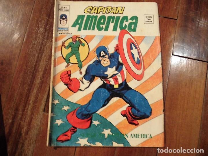 CAPITAN AMERICA V 3 Nº 1 MUNDI COMICS VERTICE (Tebeos y Comics - Vértice - Capitán América)