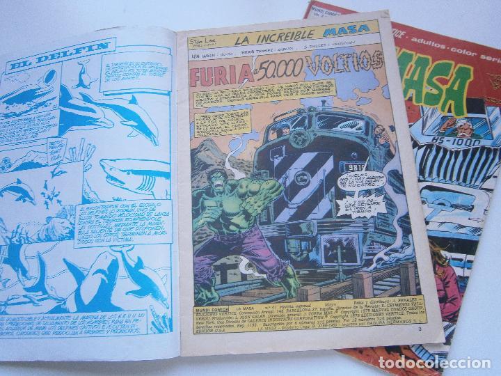 Cómics: LA MASA Vol 3 V.3 - 41, 42 - Vértice Mundi Comics - 1978 - Foto 2 - 189675456