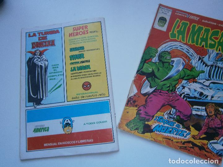 Cómics: LA MASA Vol 3 V.3 - 41, 42 - Vértice Mundi Comics - 1978 - Foto 4 - 189675456