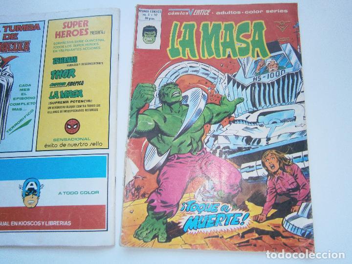 Cómics: LA MASA Vol 3 V.3 - 41, 42 - Vértice Mundi Comics - 1978 - Foto 5 - 189675456