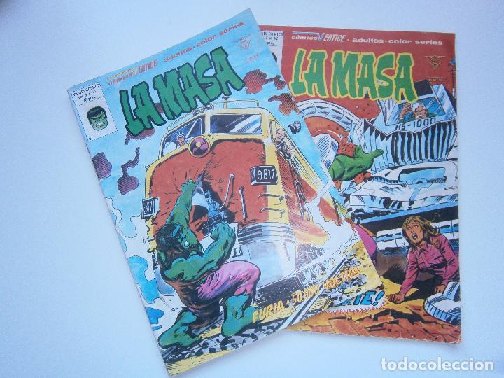 LA MASA VOL 3 V.3 - 41, 42 - VÉRTICE MUNDI COMICS - 1978 (Tebeos y Comics - Vértice - La Masa)