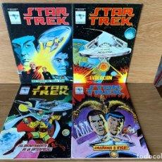 Comics: STAR TREK Nº 1 AL 4 - AÑOS 80. Lote 189693796