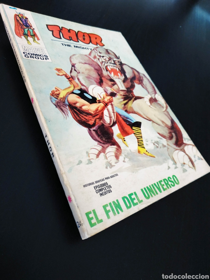 MUY BUEN ESTADO THOR 24 VERTICE TACO (Tebeos y Comics - Vértice - Thor)