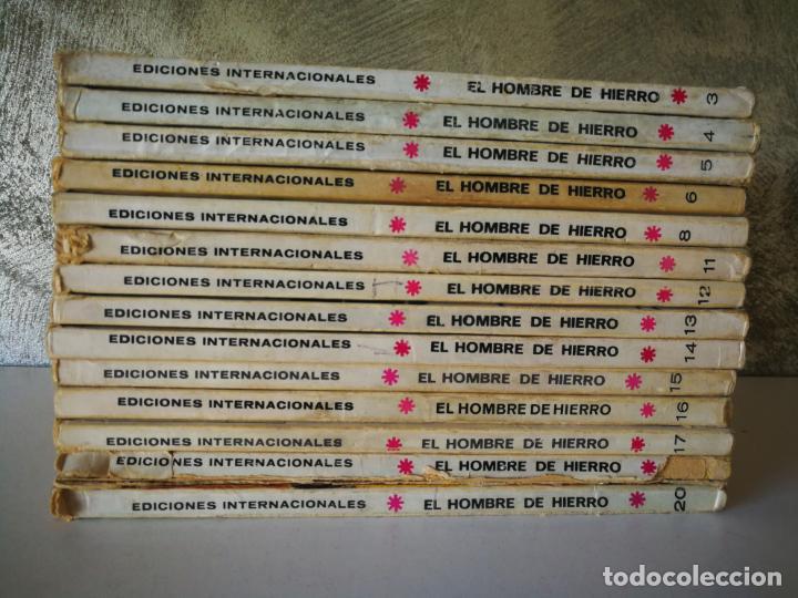 LOTE EL HOMBRE DE HIERRO VÉRTICE TACO NÚMEROS 3 4 5 6 8 11 12 13 14 15 16 17 19 20 (Tebeos y Comics - Vértice - Hombre de Hierro)