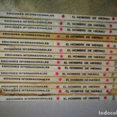 Cómics: LOTE EL HOMBRE DE HIERRO VÉRTICE TACO NÚMEROS 3 4 5 6 8 11 12 13 14 15 16 17 19 20. Lote 190062053