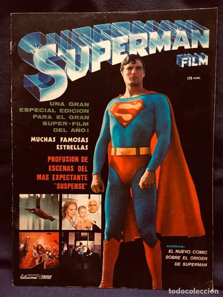 SUPERMAN FILM EDICIONES VERTICE DC COMICS 1979 (Tebeos y Comics - Vértice - Super Héroes)