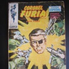 Comics: CORONEL FURIA (1970, VERTICE) 14 · 1972 · EL ESCONDITE. Lote 190144378