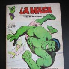 Cómics: HULK (1970, VERTICE) -LA MASA- 29 · 1973 · EN LA FRONTERA DE LA MUERTE. Lote 190156593