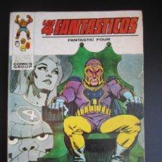 Cómics: 4 FANTASTICOS, LOS (1969, VERTICE) -V.1- 52 · 1973 · MUERTE GRITA EL CONQUISTADOR. Lote 190164327