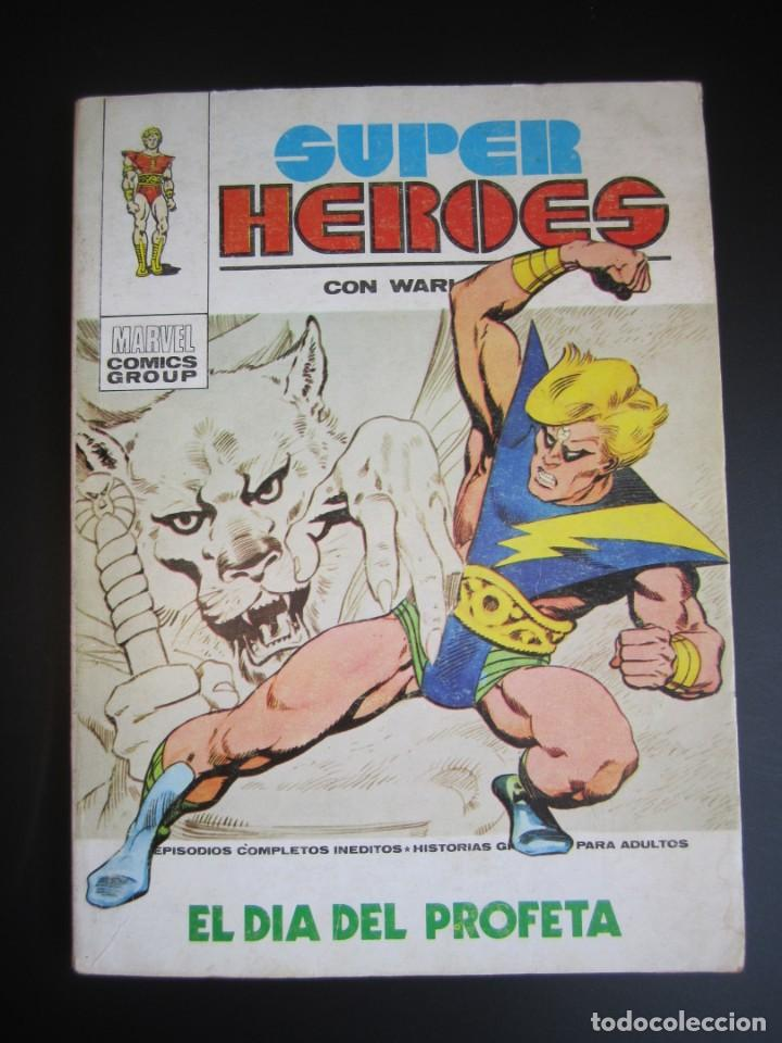 SUPER HEROES (1973, VERTICE) 1 · 1973 · EL DIA DEL PROFETA (Tebeos y Comics - Vértice - Super Héroes)