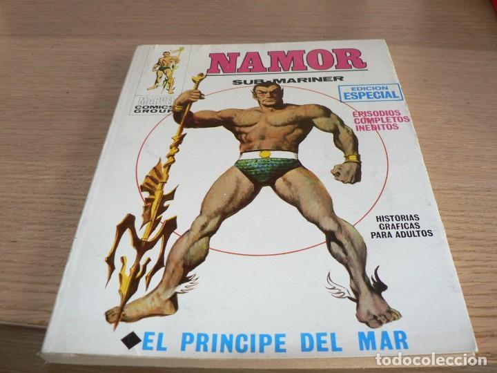 NAMOR Nº 1 -VER ESTADO (Tebeos y Comics - Vértice - Otros)