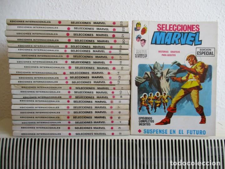 SELECCIONES MARVEL VERTICE TACO ¡¡¡ ¡MUY BUEN ESTADO !!!! COLECCION COMPLETA (Tebeos y Comics - Vértice - V.1)