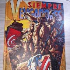 Cómics: COMIC FORUM SIEMPRE VENGADORES TOMO TAPA DURA - EN PERFECTO ESTADO. Lote 190518240
