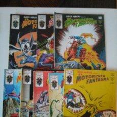 Fumetti: EL MOTORISTA FANTASMA SÚPER HÉROES PRESENTA...LOTE DE 8 VOLS. Lote 190711022