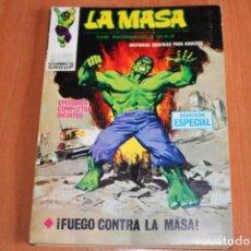 Cómics: LA MASA / FUEGO CONTRA LA MASA Nº 20 / ED.VERTICE. Lote 190928826