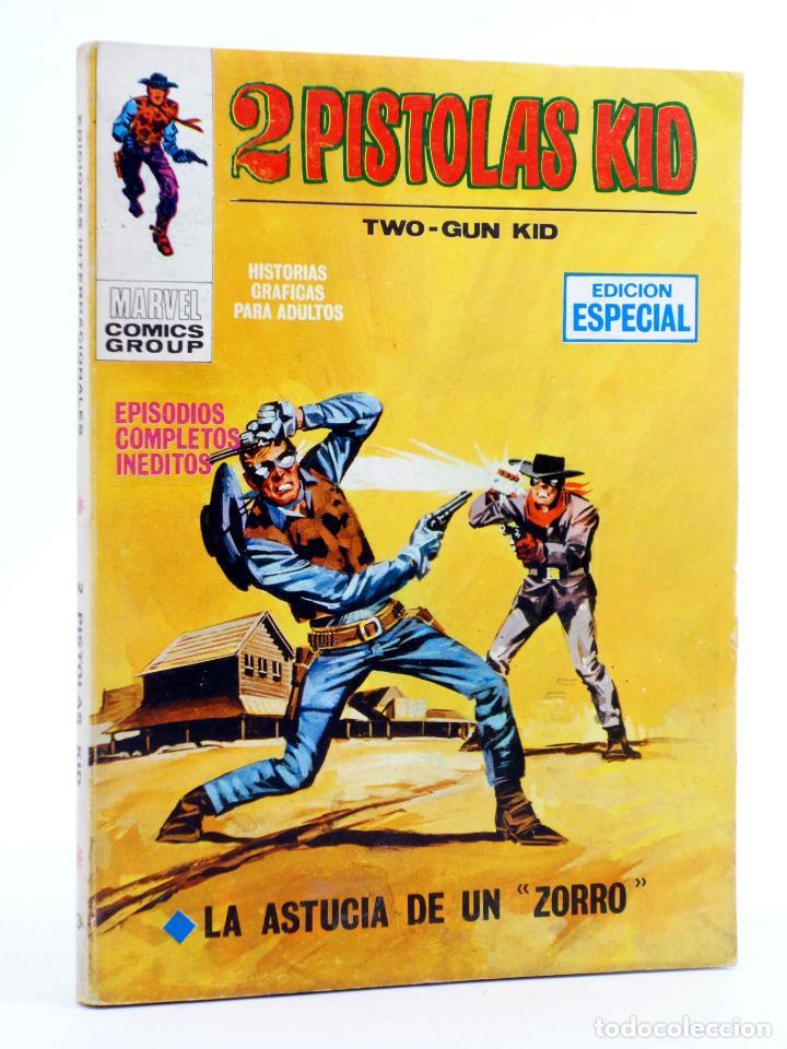 2 PISTOLAS KID TWO GUN KID 3. LA ASTUCIA DE UN ZORRO (JACK KIRBY) VÉRTICE, 1971 (Tebeos y Comics - Vértice - V.1)