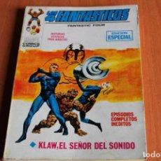 Cómics: LOS 4 FANTASTICOS / KLAW,EL SEÑOR DEL SONIDO Nº27 / ED.VERTICE. Lote 191159720