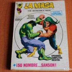 Cómics: LA MASA / SU NOMBRE...SANSON Nº19 / ED.VERTICE. Lote 191165645