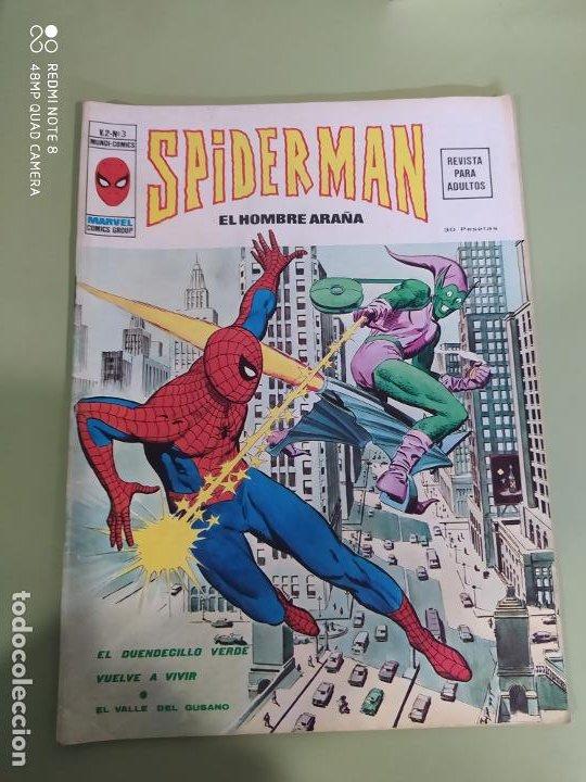 SPIDERMAN VOL 2 N 3 VERTICE (Tebeos y Comics - Vértice - La Masa)