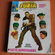 Cómics: SARGENTO FURIA / SIETE CONDENADOS Nº1 / ED.VERTICE. Lote 191173606