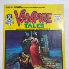Cómics: VERTICE ESCALOFRIO/VAMPIRE TALES Nº17.. Lote 191196085