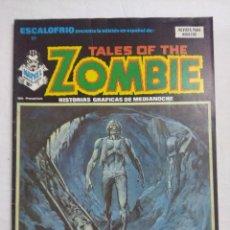 Cómics: VERTICE ESCALOFRIO/TALES OF THE ZOMBIE Nº23.. Lote 191196272