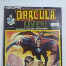Cómics: VERTICE ESCALOFRIO/DRACULA LIVES Nº44.. Lote 191197248